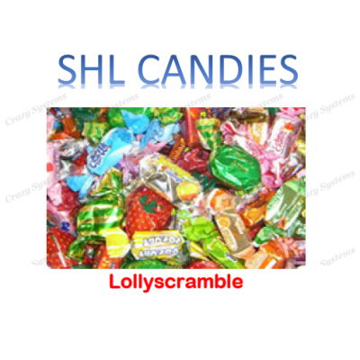 Assorted Lollyscramble Wrapped Candy *SHL Candies* (2kg bag|apx 375pc)