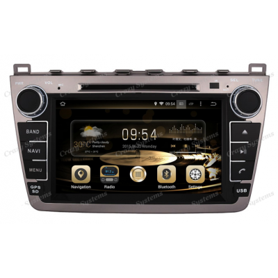 DrivePro Mazda 6 Android 5.1 Capacitive Touchscreen, DVD, GPS, BT Radio
