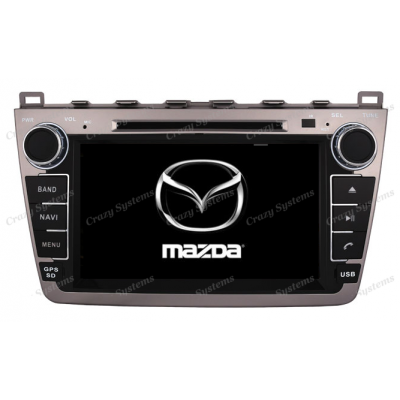 DrivePro Mazda 6 Android 7.1 Capacitive Touchscreen, DVD, Navigation, BT Radio