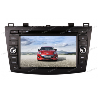 DrivePro Mazda 3 Android 7.1 Capacitive Touchscreen, DVD, GPS, BT Radio