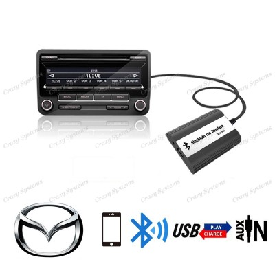 DrivePro Mazda Bluetooth Usb Aux Integration Car Kit