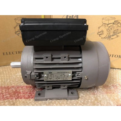 1.0HP Single Phase 4 pole 1400rpm CSCR Electric Motor