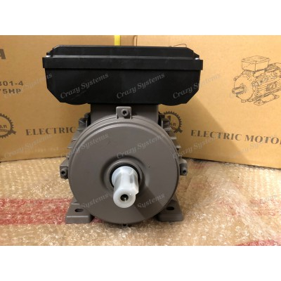 0.75HP Single Phase 4 pole 1400rpm CSCR Electric Motor
