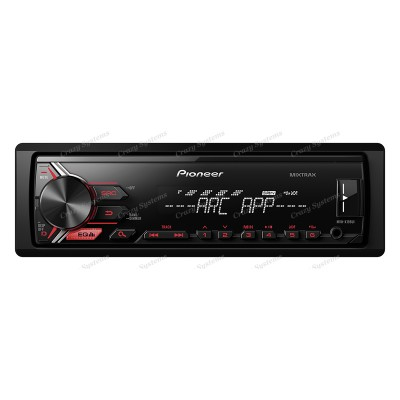 Pioneer MVH-X195UI Mechless | Front AUX/USB | iPod/iPhone/Android