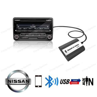 DrivePro Nissan Bluetooth Usb Aux Integration Car Kit