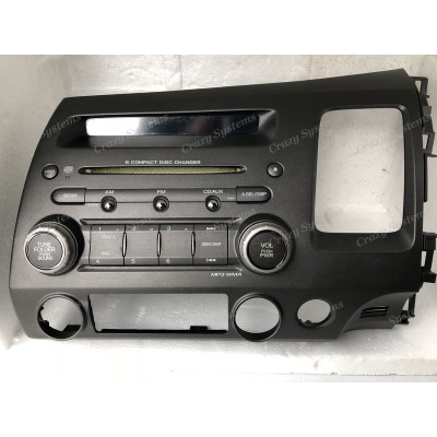 Honda Civic 2007-2011 OEM NZ New Radio *6 CD Stacker, NZ FM*