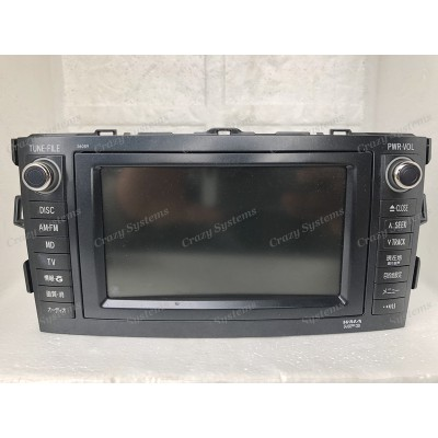Toyota Blade OEM Navigation Radio *HDD, Radio, Camera Support*