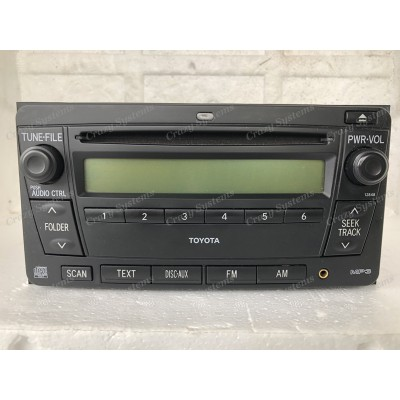 Toyota 200x100mm OEM Radio *AUX, NZ FM, AM, CD* NZ New