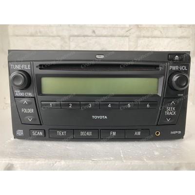 Toyota 200x100mm OEM Radio *AUX, NZ FM, AM, CD* NZ New