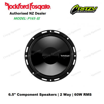 "ROCKFORD FOSGATE P165-SI Punch Series ICC 6.5"" Component Speakers 60W RMS"