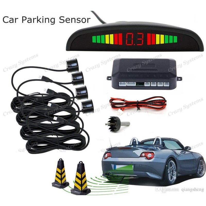 4 Rear Parking Guidance Sensors *Color matched* - Including Installation