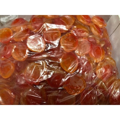 Maycey's Sour Peaches - Gummy Candy *SHL Candies* (apx 1.7kg bag | apx 265pcs)