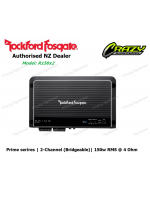 Rockford Fosgate R150x2 Prime 150 Watt 2-Channel Amplifier (150w RMS x 1 |4 ohm)