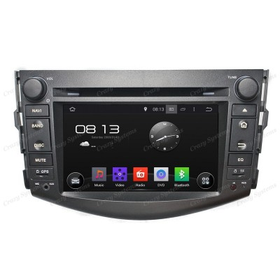 Toyota Rav4 Android 5.1 OEM Radio *MirrorLink, WIFI, GPS* (2006-2012)