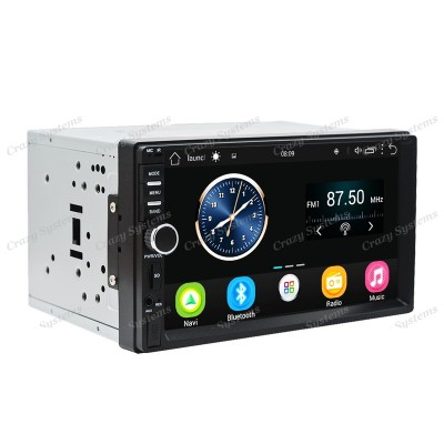 "DrivePro DPR0011A6 - 7"" Android 6.0 Mechless MultiMedia Unit with WIFI, BT, GPS,"