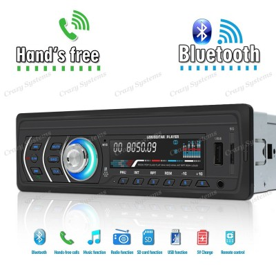 DrivePro DPR1581 - 1Din Mechless BT/USB/AUX/SD Car Stereo