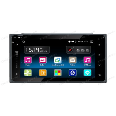 "DrivePro DPR0070 6.95"" - Toyota Android 5.1 USB,AUX,BT,GPS,WIFI STEREO"