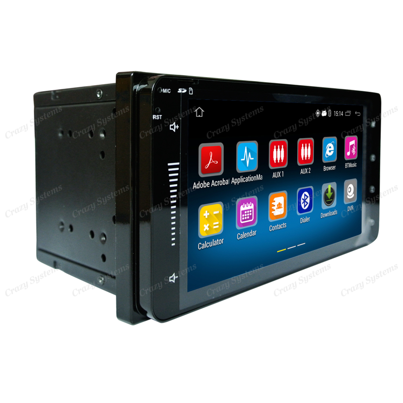 """DrivePro DPR0070 6.95"""" - Toyota Android 5.1 USB,AUX,BT,GPS,WIFI STEREO"""
