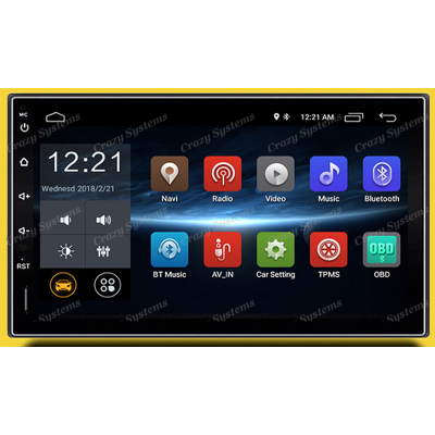 """DrivePro DPR0009 7"""" Android 6.0 USB,AUX,BT, FM/AM,GPS,WIFI CAR STEREO"""