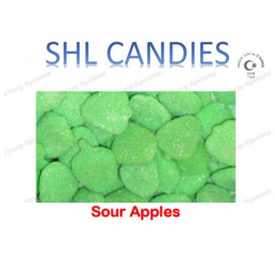 Sour Apples Candy *SHL Candies* - (2kg bag   apx 415pcs)