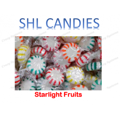 Fruit Starlight Mints Candy *SHL Candies* - (2kg bag | apx 341pcs)