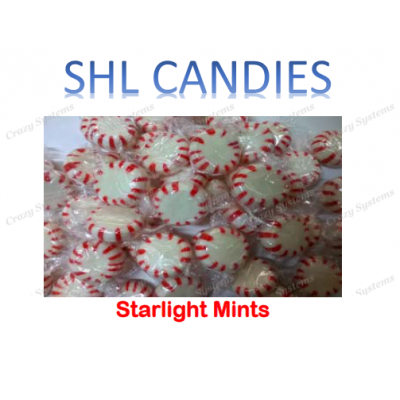 Starlight Mints Candy *SHL Candies* - (2kg bag | apx 341pcs)