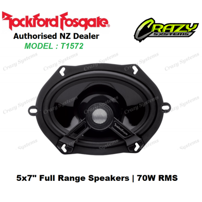 ROCKFORD FOSGATE T1572 Power Series 70W RMS 2 WAY Coax [5X7 / 6X8 INCH]