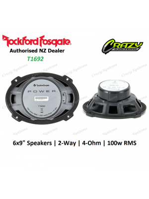 "Rockford Fosgate (T1692) Power 6""X9"" 2-Way Full-Range Speaker (100w RMS)"
