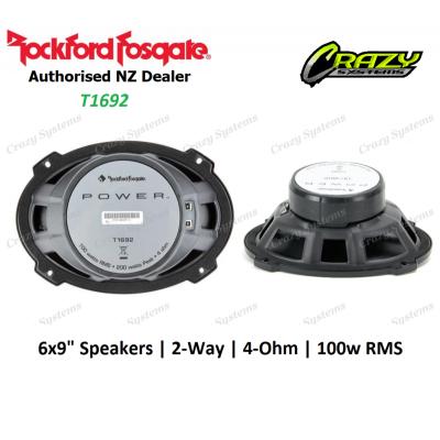 """Rockford Fosgate (T1692) Power 6""""X9"""" 2-Way Full-Range Speaker (100w RMS)"""
