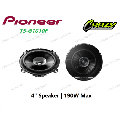 """PIONEER-TS-G1010F - 4"""" 2-WAY SPEAKER (190W MAX)"""