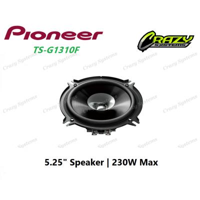 """PIONEER-TS-G1310F - 5.25"""" 2-WAY SPEAKER (230W MAX)"""
