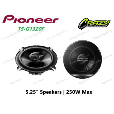 """PIONEER-TS-G1320F - 5.25"""" 2-WAY SPEAKER (250W MAX)"""