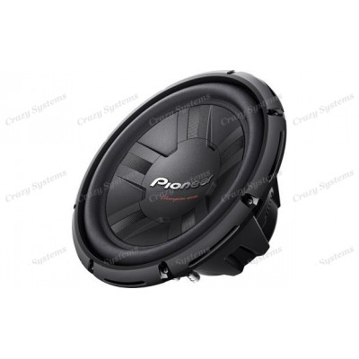 "PIONEER TS-W311S4 - (400W RMS) *4 Ohm* 12"" CHAMPION SERIES SUBWOOFER"