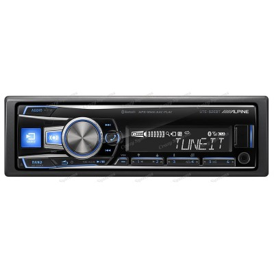 ALPINE UTE-62EBT *TOP OF CLASS* Mechless Bluetooth USB AUX Ipod 3x Preouts