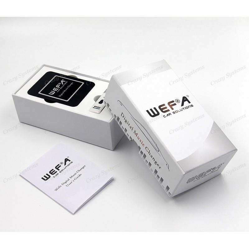 WEFA Subaru Bluetooth, USB, Aux Integration Kit