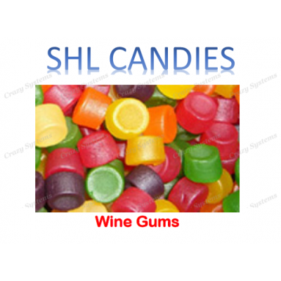 Pascall's Wine Gums *SHL Candies* - (2kg bag)