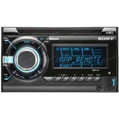Sony WX-GT80UI Double-Din Car Stereo CD/MP3 Player w/ Pandora, iPhone, Android