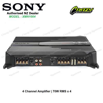 SONY XM-N1004 | 4 Channel Amplifier | Class A/B | 1000W Max | 70W RMS x 4