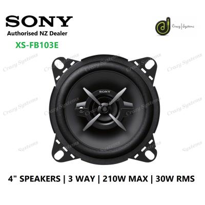 "Sony XS-FB103E | 4"" 3-Way 210W Speaker Coaxial Pair"
